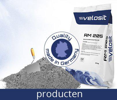 Velosit snelcement producten